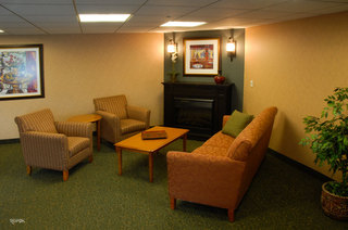 Spacious common room in Hopkins senior living