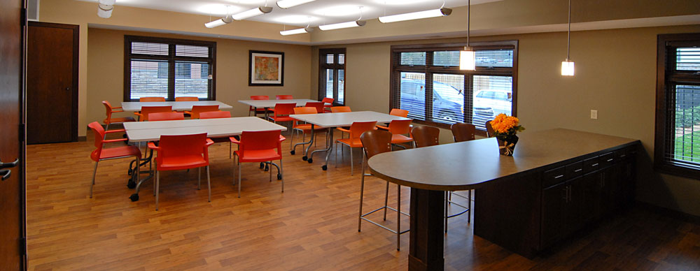 Arts and craft room in Minnetonka senior living