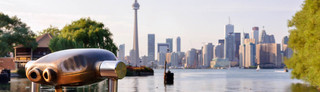 Waterfront view of apartments in toronto gta jpg