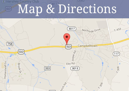 Get directions to Traditions of Hershey in Palmyra, Pennsylvania.