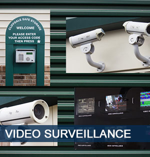 Video surveillance at Fayetteville self storage