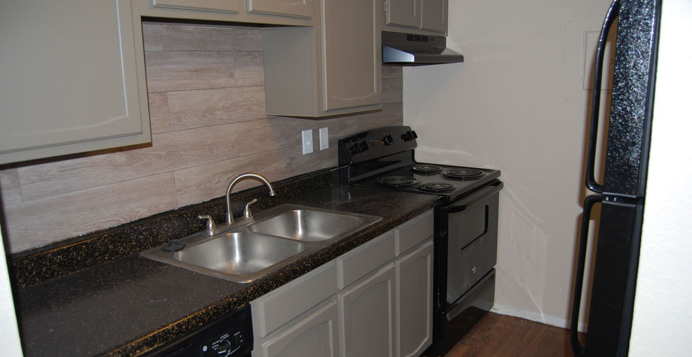 Apartments in Fort Worth has modern kitchens