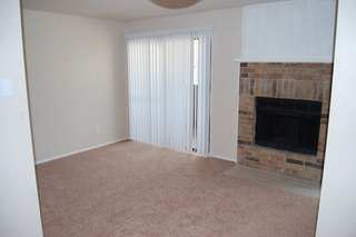 Apartments in Fort Worth has bright living rooms
