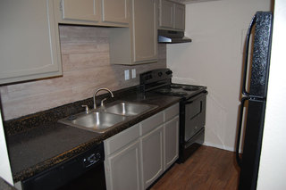 Luxury kitchens at apartments in Fort Worth