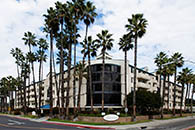 Senior living building exterior in escondido