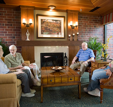 about our senior care community