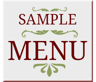 Sample menu of dining services available in Minnetonka, Minnesota at The Glenn Minnetonka.