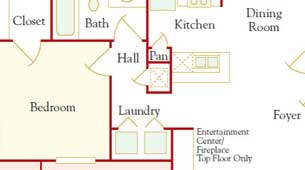 Floor Plans at Thornberry Apartments