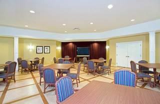 Activities room at senior living in lakeland