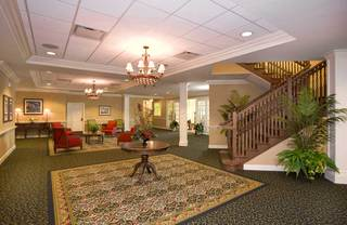Entryway at lakeland senior living