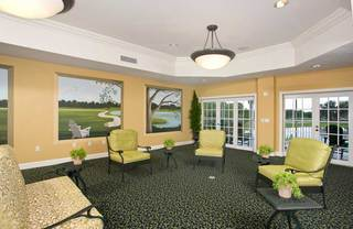 Large windows and amazing views at senior living in lakeland