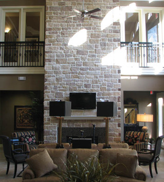 Apartments for rent tx clubhouse fireplace