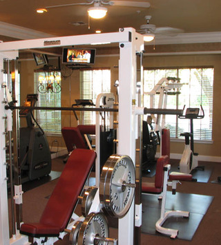 Texas apartments for rent fitness center