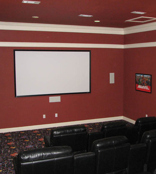 Woodlands texas apartments theater