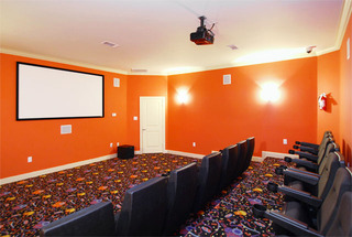 Theater room houston apartments