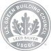 Our apartment building is certified LEED Silver by the U.S. Green Building Council