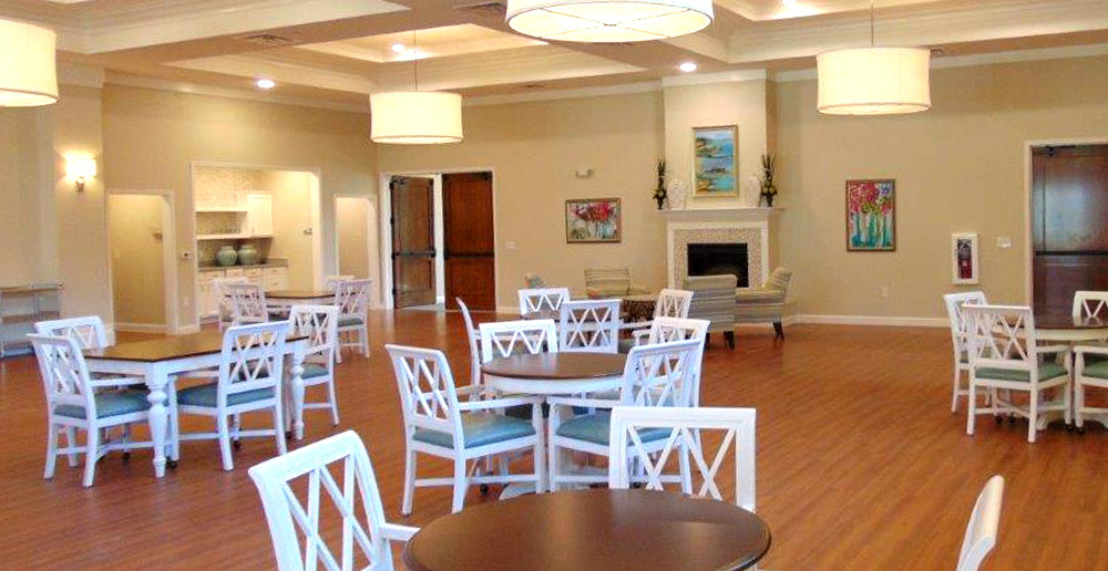 Assisted living in spring texas dining