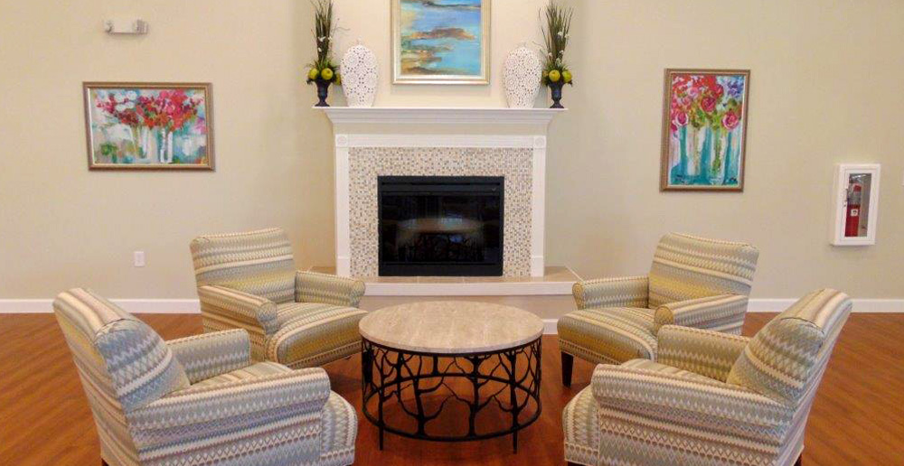 Assisted living in spring texas fireplace