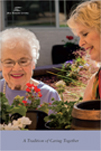 Seniors eeping active gardening
