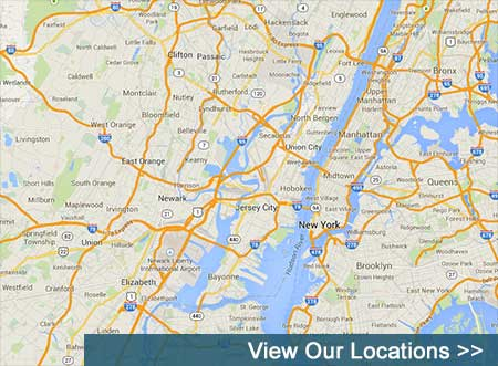 This map shows where our Self Storage locations exist.