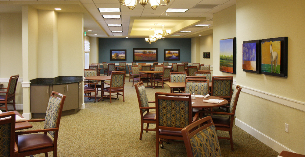Assisted living in irving texas dining
