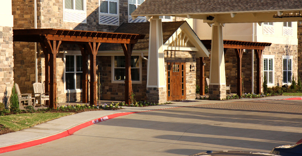 Assisted living in irving texas front door