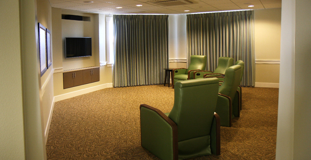 Assisted living in irving texas media room