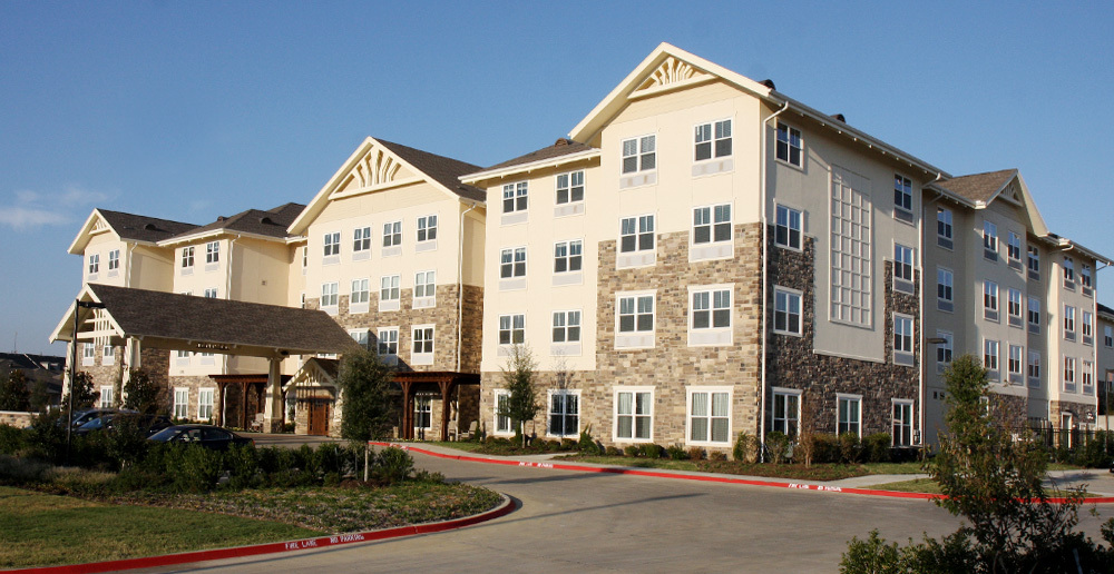 Assisted living in irving texas front view