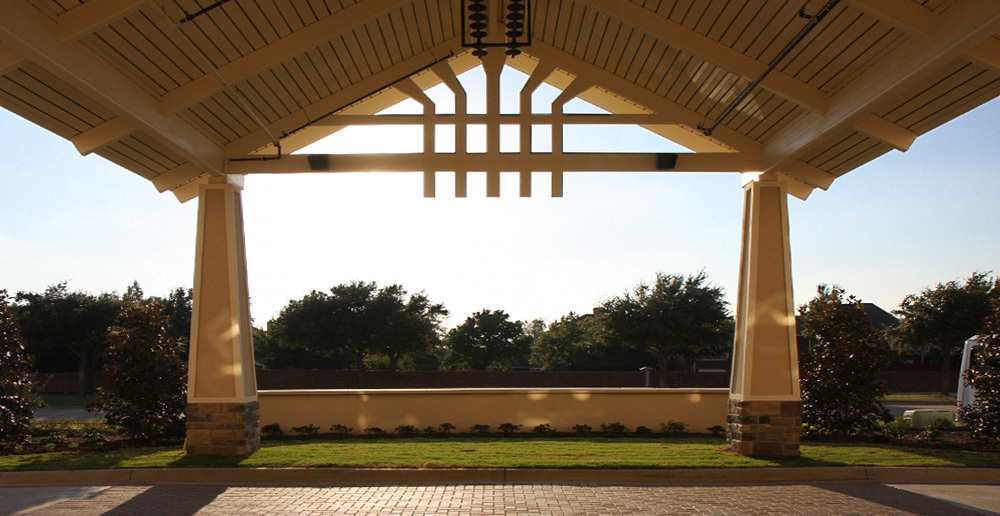Assisted living in irving texas porte cochere