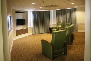 Large macarthur hills irving texas media room
