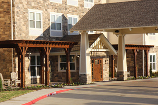 Large macarthur hills irving texas front entry