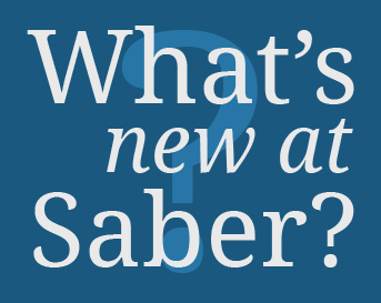 What's new at Saber Health?