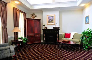 Group lobby at apratments in new philadelphia