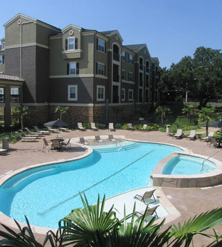 Pool area apartments san antonio