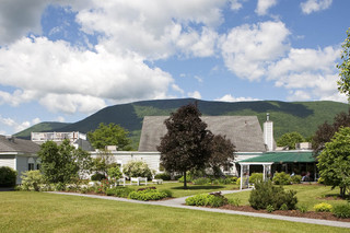 Landscape view of manchester center senior living facility
