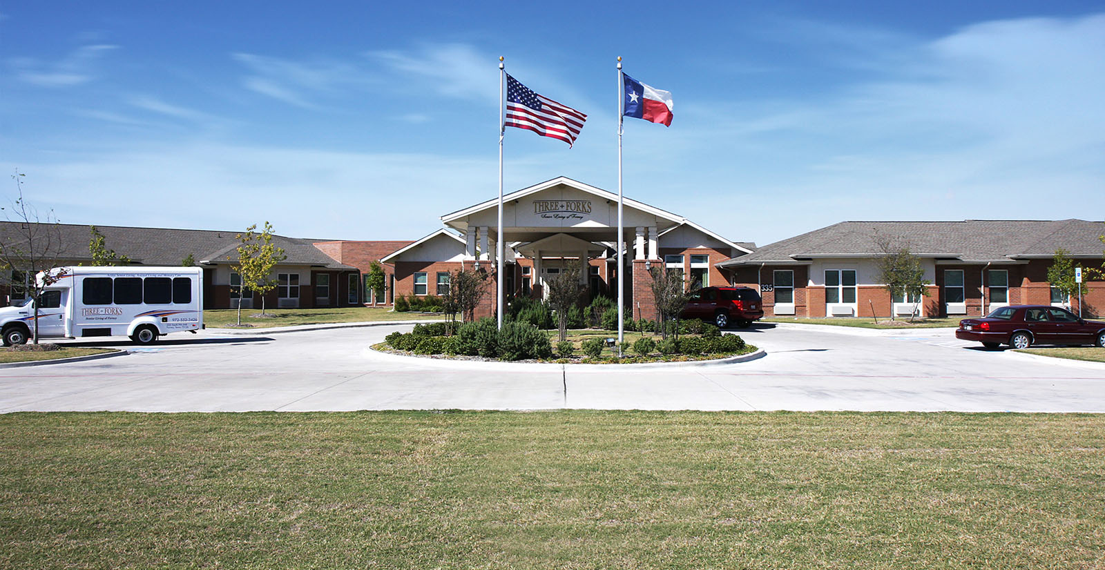 Assisted living in forney texas front view 2