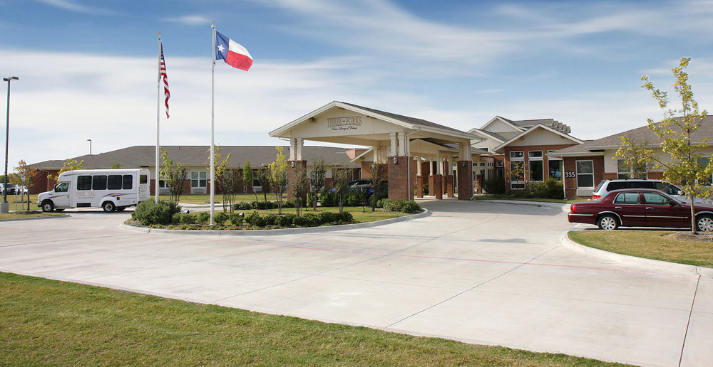 Assisted living in forney texas front drive