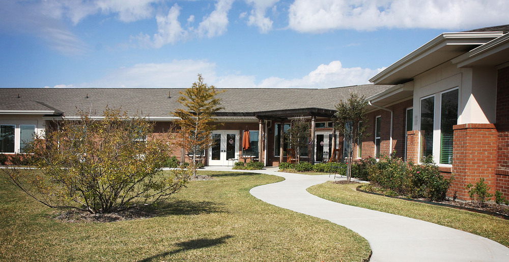 Assisted living in forney texas courtyard