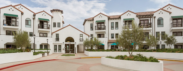 San clemente senior living entry