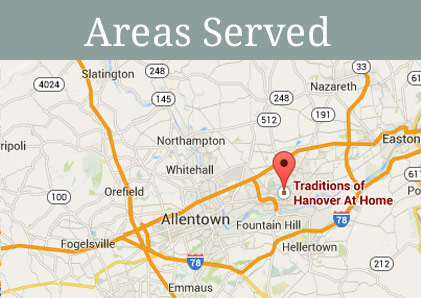 Get directions to Traditions of Hanover at Home in Bethlehem, Pennsylvania.