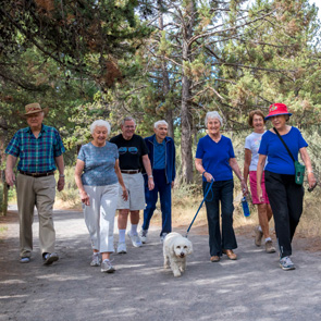 Some of our Residents enjoying an outing to Smith Rock near Bend, Oregon