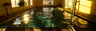 Swimming pool at senior living community 3333