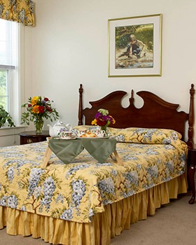 Housekeeping offered for assisted living seniors in Hanover NH at Wheelock Terrace.