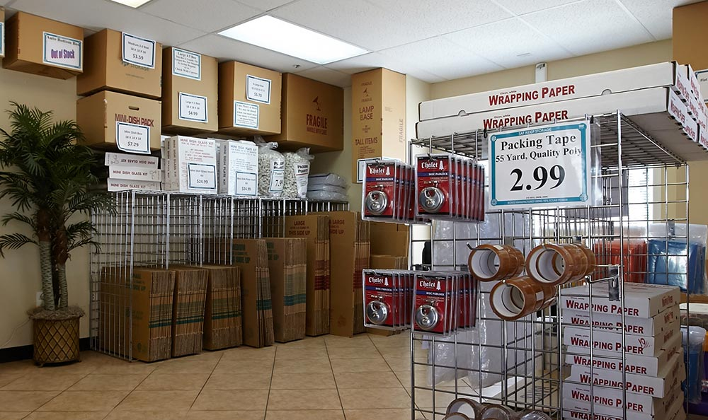 Packing moving supplies san ramon storage