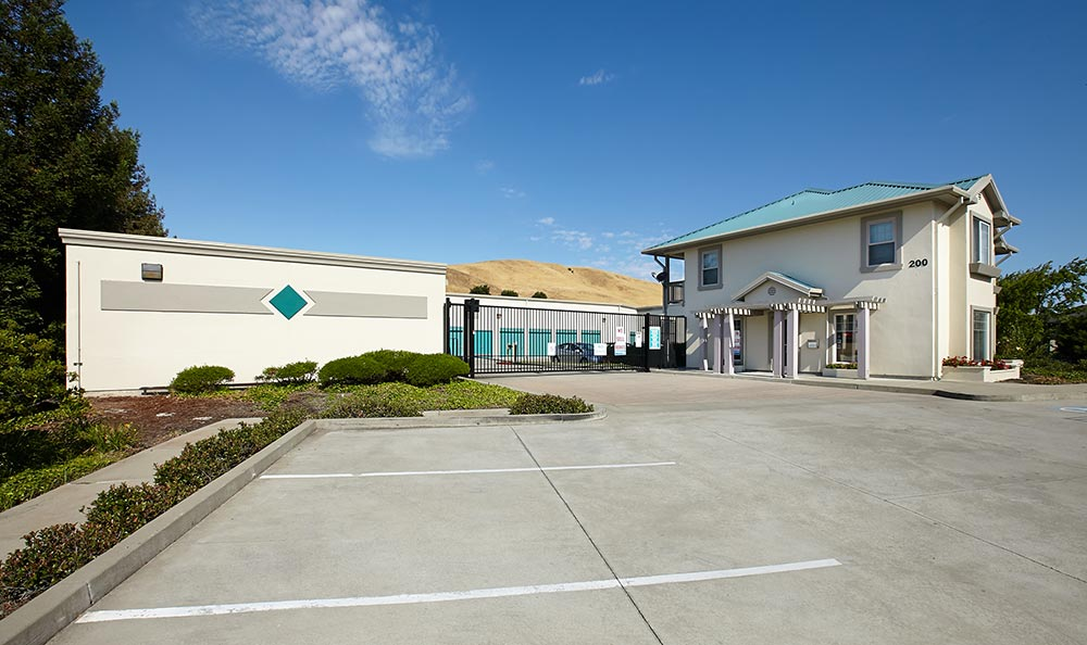 San ramon self storage office