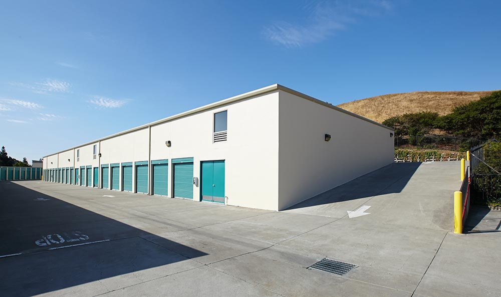 View of self storage in san ramon