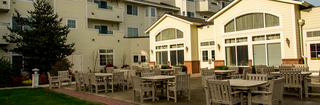 Touchmark at fairway village patio
