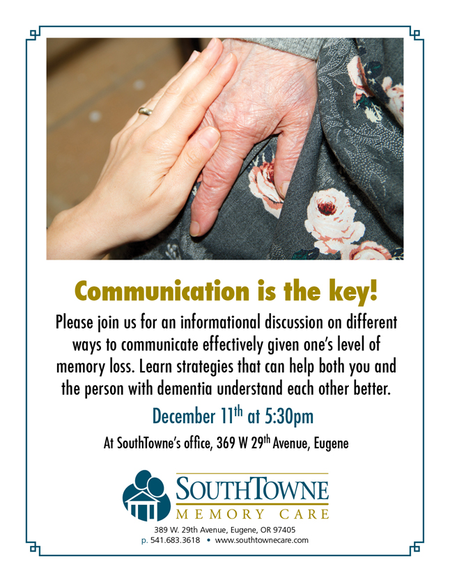 SouthTowne communication lecture