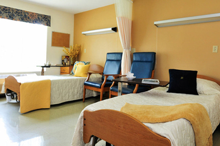 Shared room at skilled nursing in akron