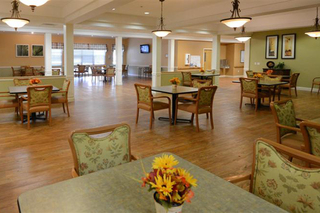 Centerburg dining room at our skilled nursing facility